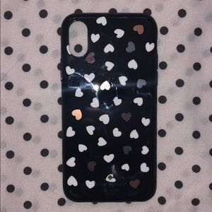 Kate Spade heart X/XS iPhone case